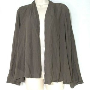 Eileen Fisher Open Front Jacket Cover-Up Size S